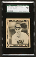 Baseball Cards:Singles (1940-1949), 1948 Swell Sport Thrills Strikeout Record! #19 SGC 60 EX 5....