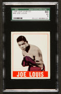Boxing Cards:General, 1948 Leaf Joe Louis #48 SGC 60 EX 5....