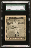 "Baseball Cards:Singles (1940-1949), 1948 Swell Sport Thrills ""Home Run Wins Series"" #6 SGC 60 EX 5...."