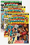 Modern Age (1980-Present):Superhero, Captain America Box Lot (Marvel, 1973-1991) Condition: AverageNM....