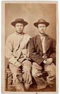 Western Expansion:Goldrush, Idaho Miners Occupational CDV....
