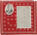Political:3D & Other Display (1896-present), Theodore Roosevelt: We Want Teddy Song Bandanna....