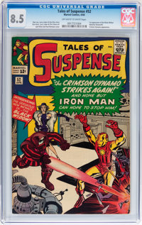 Tales of Suspense #52 (Marvel, 1964) CGC VF+ 8.5 Off-white to white pages