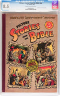 Golden Age (1938-1955):Religious, Picture Stories from the Bible #nn Complete Life of Christ Edition (EC, 1945) CGC VF+ 8.5 Cream to off-white pages....