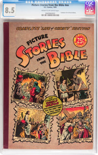 Picture Stories from the Bible #nn Complete Life of Christ Edition (EC, 1945) CGC VF+ 8.5 Cream to off-white pages