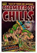 Golden Age (1938-1955):Horror, Chamber of Chills #12 (Harvey, 1952) Condition: FN+....