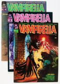 Magazines:Horror, Vampirella Group (Warren, 1969-71) Condition: Average FN/VF.... (Total: 6 Comic Books)