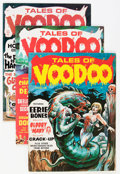 Magazines:Horror, Tales of Voodoo (Magazine) Group (Eerie Publications, 1968-72) Condition: Average FN/VF.... (Total: 13 Comic Books)