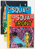 Magazines:Fanzine, Squa Tront Group (Jerry Weist, 1967-83) Condition: Average NM-.... (Total: 9 Items)
