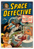 Golden Age (1938-1955):Science Fiction, Space Detective #1 (Avon, 1951) Condition: Apparent VF+....