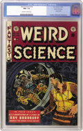 Golden Age (1938-1955):Science Fiction, Weird Science #19 Gaines File pedigree 2/10 (EC, 1953) CGC NM+ 9.6Off-white to white pages. A scary cover from the master o...