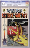 Golden Age (1938-1955):Science Fiction, Weird Science-Fantasy #28 Gaines File pedigree 3/12 (EC, 1955) CGCNM+ 9.6 Off-white pages. Al Feldstein's cover makes us wo...