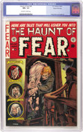 Golden Age (1938-1955):Horror, Haunt of Fear #20 Gaines File pedigree 2/11 (EC, 1953) CGC NM+ 9.6Off-white to white pages. The detail on this Graham Ingel...