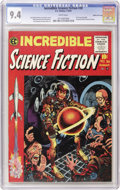 Golden Age (1938-1955):Horror, Incredible Science Fiction #30 Gaines File pedigree 2/12 (EC, 1955)CGC NM 9.4 White pages. Here's another Gaines File Copy,...