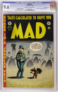 Golden Age (1938-1955):Humor, Mad #3 Gaines File pedigree 4/12 (EC, 1953) CGC NM+ 9.6 Off-white to white pages. Notice the pattern here? Outstanding copie...