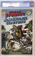 Golden Age (1938-1955):Non-Fiction, Picture Stories From American History #2 Gaines File pedigree 8/11(EC, 1946) CGC NM+ 9.6 Off-white pages. Get your history ...