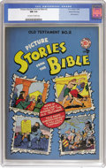 Golden Age (1938-1955):Religious, Picture Stories from the Bible Old Testament Edition #2 Gaines Filepedigree (EC, 1946) CGC NM 9.4 Off-white to white pages....