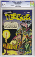 Golden Age (1938-1955):Horror, Beware Terror Tales #2 Crowley Copy pedigree (Fawcett, 1952) CGC NM9.4 Off-white to white pages. Pre-Code horror with art b...