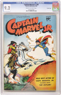 Golden Age (1938-1955):Superhero, Captain Marvel Jr. #64 Crowley Copy pedigree (Fawcett, 1948) CGC NM- 9.2 Cream to off-white pages. A good-looking pedigree c...