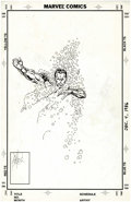 Original Comic Art:Covers, John Byrne - The Avengers Unpublished Cover Original Art (Marvel,circa 1989). Can even the Sub-Mariner withstand the brutal...