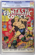 Golden Age (1938-1955):Superhero, Fantastic Comics #1 (Fox, 1939) CGC FN/VF 7.0 Off-white pages. LouFine fans won't want to miss this copy, one of the finest...