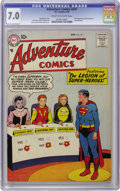 Silver Age (1956-1969):Superhero, Adventure Comics #247 (DC, 1958) CGC FN/VF 7.0 Cream to off-whitepages. You could argue that no super-group ever has had as...