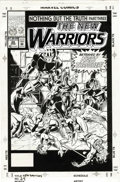 Original Comic Art:Covers, Mark Bagley and Larry Mahlstedt - The New Warriors #24 CoverOriginal Art (Marvel, 1992). The New Warriors are betrayed by t...