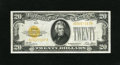 Small Size:Gold Certificates, Fr. 2402 $20 1928 Gold Certificate. Very Fine.. This is an attractive mid-grade $20 Gold that exhibits even circulation and ...