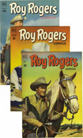 Golden Age (1938-1955):Western, Roy Rogers Comics File Copies Group (Dell, 1951-61) Condition:VF/NM. The beautiful copies included here average VF/NM, and ...(Total: 31 Comic Books)