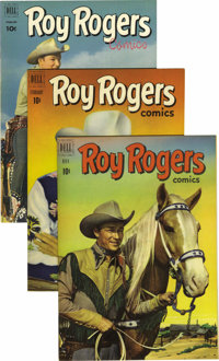 Roy Rogers Comics File Copies Group (Dell, 1951-61) Condition: VF/NM. ... (Total: 31 Comic Books)