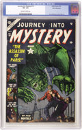 Golden Age (1938-1955):Horror, Journey Into Mystery #10 White Mountain pedigree (Marvel, 1953) CGCVF+ 8.5 Off-white to white pages....