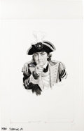 "Original Comic Art:Sketches, Norman Mingo - Mad Special #19, page 24 Illustration Original Art (EC, 1976). General Benedict Arnold says: ""I Want Ye For t..."