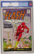 Silver Age (1956-1969):Superhero, The Flash #111 (DC, 1960) CGC NM 9.4 Off-white to white pages. Thisshould underscore the talk you've heard about how hard i...