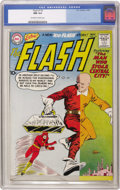 Silver Age (1956-1969):Superhero, The Flash #116 (DC, 1960) CGC NM 9.4 Off-white to white pages. Fromthe sharp corners to the pristine back cover, you'll fin...
