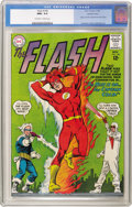 Silver Age (1956-1969):Superhero, The Flash #140 Western Penn pedigree (DC, 1963) CGC NM+ 9.6Off-white to white pages. This beautiful copy features the first...