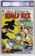 "Golden Age (1938-1955):Humor, Four Color #328 Donald Duck in ""Old California"" (Dell, 1951) CGC NM 9.4 Off-white to white pages. Pretty copy looks even bet..."