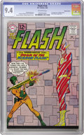 Silver Age (1956-1969):Superhero, The Flash #126 Western Penn pedigree (DC, 1962) CGC NM 9.4 Off-white pages. The Mirror Master makes things hard for the Flas...