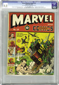Golden Age (1938-1955):Superhero, Marvel Mystery Comics #10 (Timely, 1940) CGC VG 4.0 Off-white to white pages. Arguably the single biggest event of the Timel...
