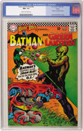 Silver Age (1956-1969):Superhero, The Brave and the Bold #69 Batman and Green Lantern - Boston pedigree (DC, 1967) CGC NM+ 9.6 Cream to off-white pages. Two h...