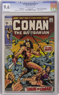 Bronze Age (1970-1979):Superhero, Conan the Barbarian #1 (Marvel, 1970) CGC NM+ 9.6 Off-white towhite pages. The '60s saw upstart Marvel dethrone DC as King ...
