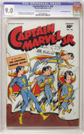 Golden Age (1938-1955):Superhero, Captain Marvel Jr. #58 Crowley Copy/File Copy (Fawcett, 1948) CGC VF/NM 9.0 Cream to off-white pages. Bud Thompson cover. Jo...