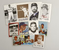 Autographs:Others, Large Collection of Baseball Signatures Lot of 116. Vast assortment of baseball signatures has been assembled here, with th...