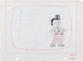 Animation Art:Limited Edition Cel, Big Boy Restaurant TV Commercial Preliminary Layout Original Art(c. 1980s)....