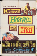 "Movie Posters:War, Between Heaven and Hell & Others Lot (20th Century Fox, 1956). One Sheets (2) (27"" X 41"") & Italian Locandina (13"" X 27.5"").... (Total: 3 Items)"