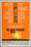 "Movie Posters:Western, The Big Country (United Artists, 1958). One Sheet (27"" X 41"") Style B. Western.. ..."