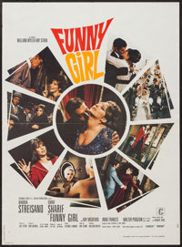 "Funny Girl (Columbia, 1968). French Affiche (23"" X 31""). Musical"