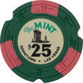 Miscellaneous:Gaming Chips, The Mint $25 Las Vegas Casino Chip, 7th Issue, R-10....