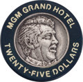 Miscellaneous:Gaming Chips, MGM Grand $25 Las Vegas Special Issue Casino Chip. ...