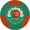 Miscellaneous:Gaming Chips, Cactus Pete's $25 Jackpot, Nevada Casino Chip. ...