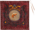 Western Expansion, Pendleton Roundup: Another Hand-painted Canvas Banner from theFamous Rodeo....